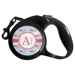 Flying Pigs Retractable Dog Leash (Personalized)
