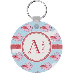Flying Pigs Keychains - FRP (Personalized)