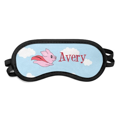 Flying Pigs Sleeping Eye Mask (Personalized)