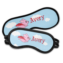 Flying Pigs Sleeping Eye Masks (Personalized)