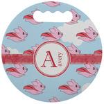 Flying Pigs Stadium Cushion (Round) (Personalized)