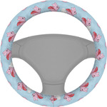 Flying Pigs Steering Wheel Cover (Personalized)