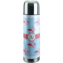 Flying Pigs Stainless Steel Thermos (Personalized)