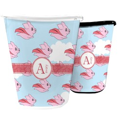 Flying Pigs Waste Basket (Personalized)