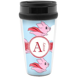 Flying Pigs Travel Mug (Personalized)