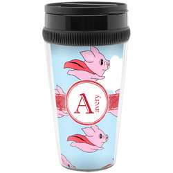 Flying Pigs Travel Mugs (Personalized)