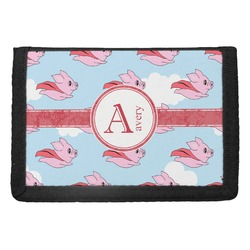 Flying Pigs Trifold Wallet (Personalized)