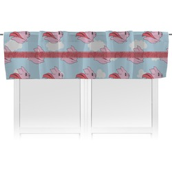 Flying Pigs Valance (Personalized)