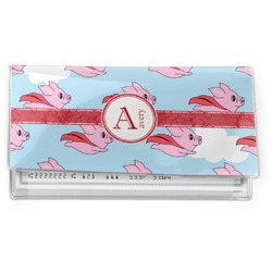Flying Pigs Vinyl Checkbook Cover (Personalized)
