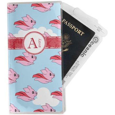 Flying Pigs Travel Document Holder