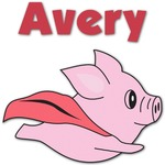 Flying Pigs Graphic Decal - Custom Sized (Personalized)