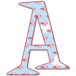 Flying Pigs Letter Decal - Custom Sized (Personalized)