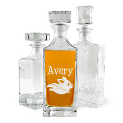 Flying Pigs Whiskey Decanter (Personalized)