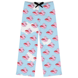 Flying Pigs Womens Pajama Pants (Personalized)