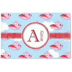Flying Pigs Woven Mat (Personalized)