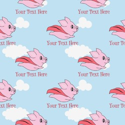 Flying Pigs Wrapping Paper (Personalized)