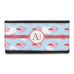 Flying Pigs Leatherette Ladies Wallet (Personalized)