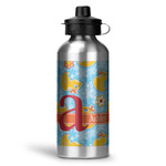Rubber Duckies & Flowers Water Bottle - Aluminum - 20 oz (Personalized)