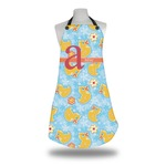 Rubber Duckies & Flowers Apron (Personalized)