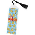 Rubber Duckies & Flowers Book Mark w/Tassel (Personalized)