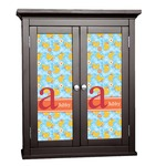Rubber Duckies & Flowers Cabinet Decal - Custom Size (Personalized)
