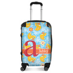 Rubber Duckies & Flowers Suitcase (Personalized)