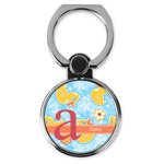Rubber Duckies & Flowers Cell Phone Ring Stand & Holder (Personalized)