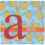 Rubber Duckies & Flowers Ceramic Tile Hot Pad (Personalized)