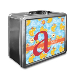 Rubber Duckies & Flowers Lunch Box (Personalized)