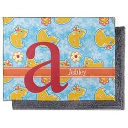 Rubber Duckies & Flowers Microfiber Screen Cleaner (Personalized)