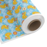Rubber Duckies & Flowers Custom Fabric by the Yard (Personalized)