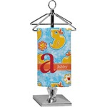 Rubber Duckies & Flowers Finger Tip Towel - Full Print (Personalized)