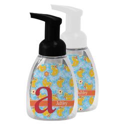 Rubber Duckies & Flowers Foam Soap Bottle (Personalized)