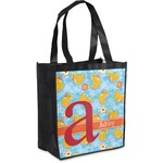 Rubber Duckies & Flowers Grocery Bag (Personalized)