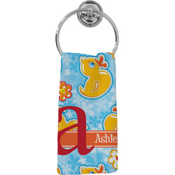 Rubber Duckies & Flowers Hand Towel - Full Print (Personalized)