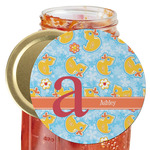 Rubber Duckies & Flowers Jar Opener (Personalized)