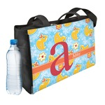 Rubber Duckies & Flowers Ladies Workout Bag (Personalized)