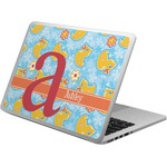 Rubber Duckies & Flowers Laptop Skin - Custom Sized (Personalized)