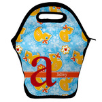 Rubber Duckies & Flowers Lunch Bag (Personalized)