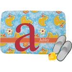 Rubber Duckies & Flowers Memory Foam Bath Mat (Personalized)