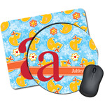 Rubber Duckies & Flowers Mouse Pads (Personalized)