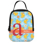 Rubber Duckies & Flowers Neoprene Lunch Tote (Personalized)