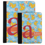 Rubber Duckies & Flowers Padfolio Clipboard (Personalized)