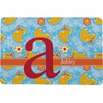 Rubber Duckies & Flowers Comfort Mat (Personalized)