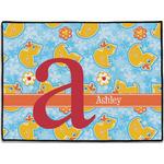 Rubber Duckies & Flowers Door Mat (Personalized)