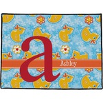 Rubber Duckies & Flowers Door Mat (Personalized)