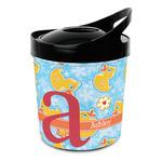Rubber Duckies & Flowers Plastic Ice Bucket (Personalized)