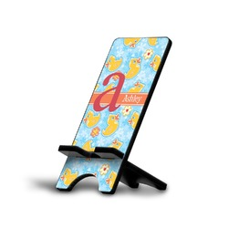 Rubber Duckies & Flowers Phone Stand (Personalized)