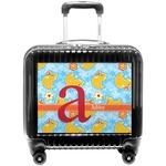 Rubber Duckies & Flowers Pilot / Flight Suitcase (Personalized)