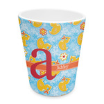 Rubber Duckies & Flowers Plastic Tumbler 6oz (Personalized)